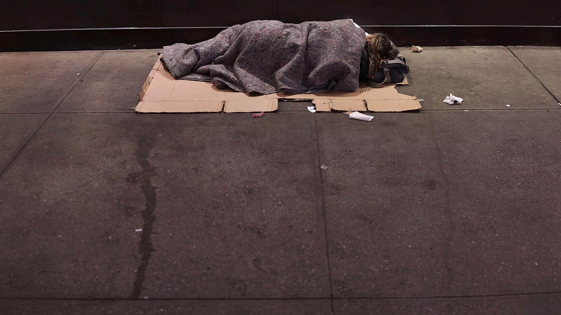 Spencer Platt:Getty Images Homeless