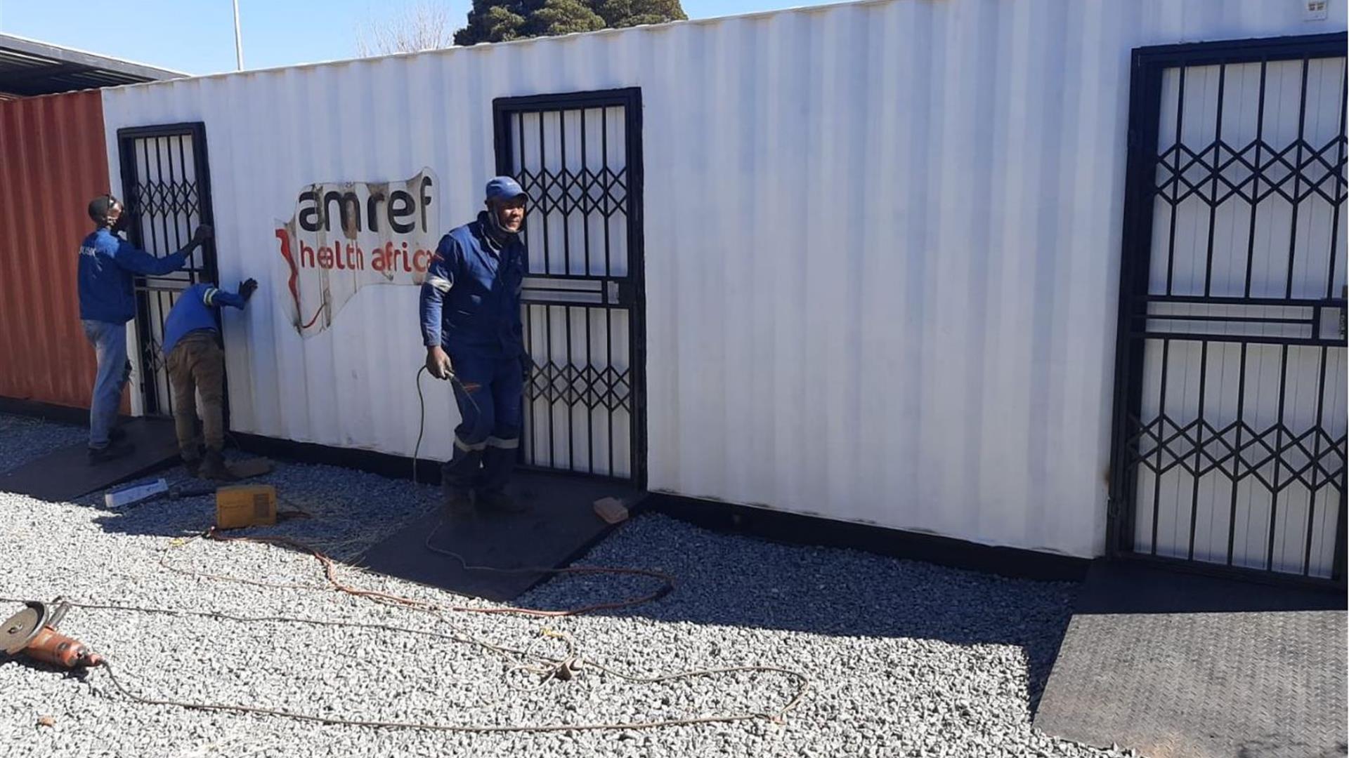 Amref Container