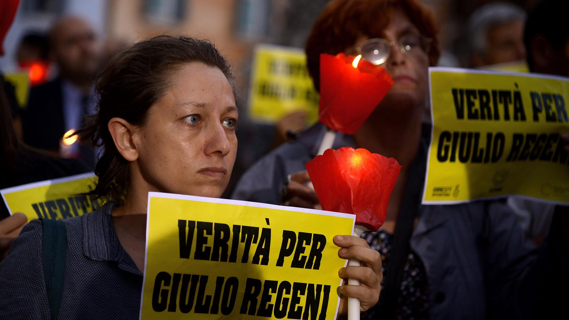 FILIPPO MONTEFORTE:AFP:Getty Images REGENI Amnesty