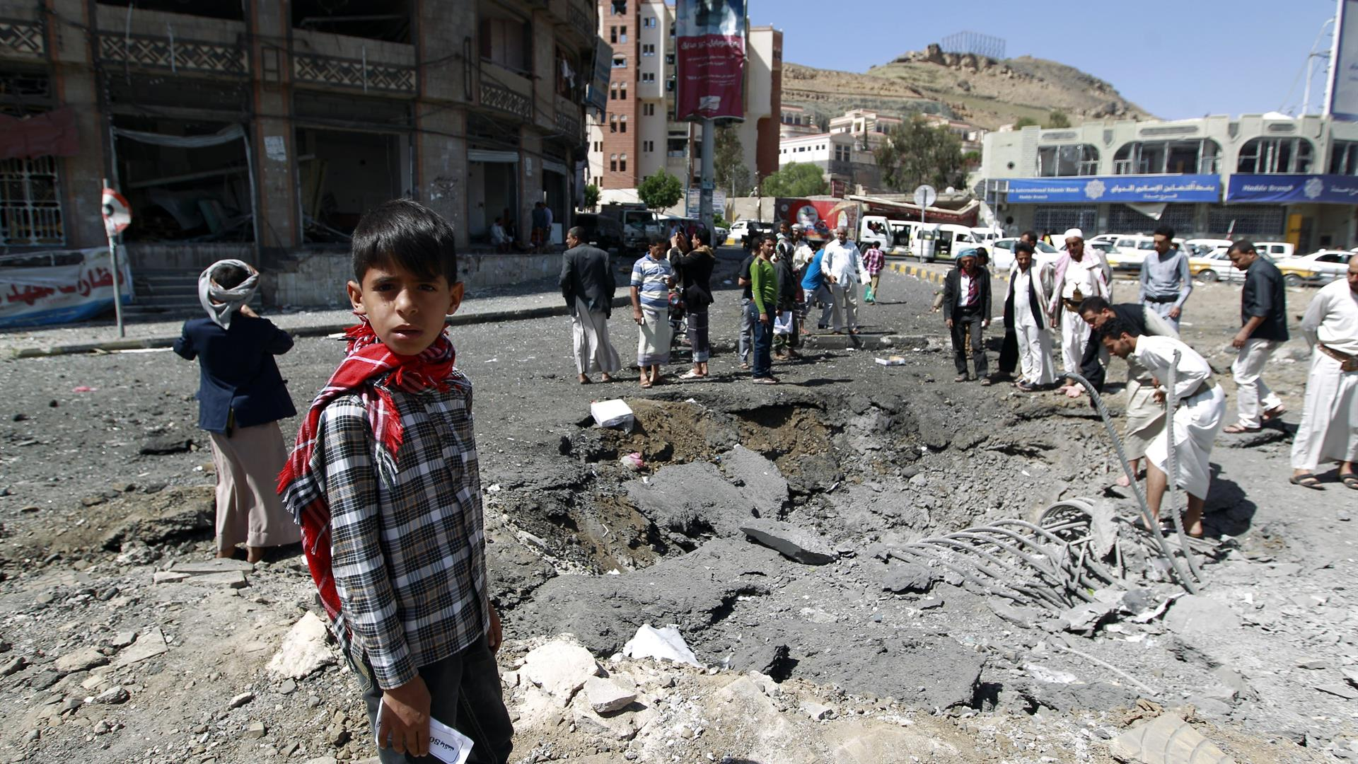 Yemen MOHAMMED HUWAIS:AFP:Getty Images