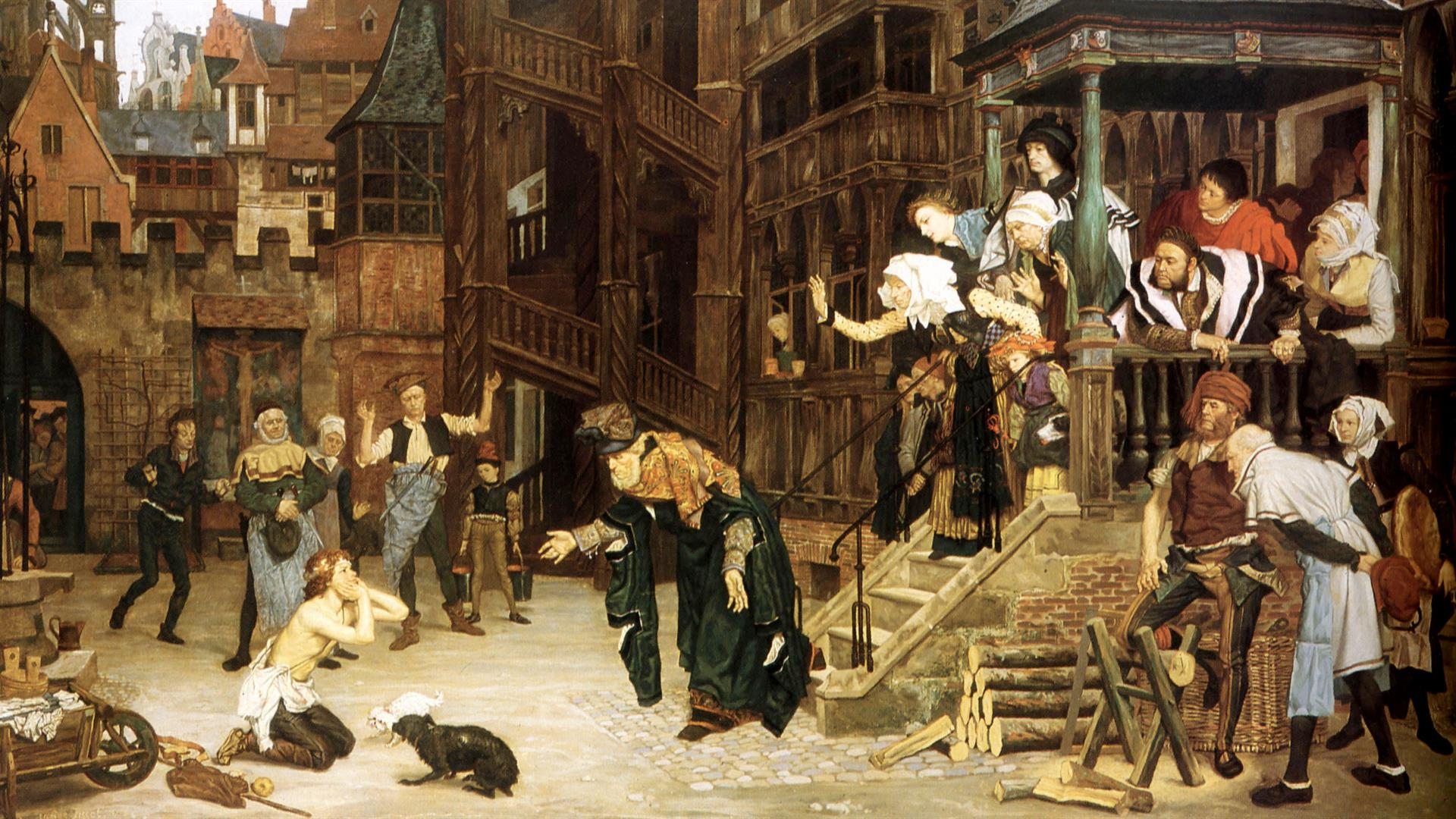 The Return Of The Prodigal Son 1862