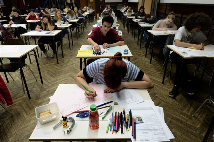 Esami Scuola F REDERICK FLORIN:AFP:Getty Images)
