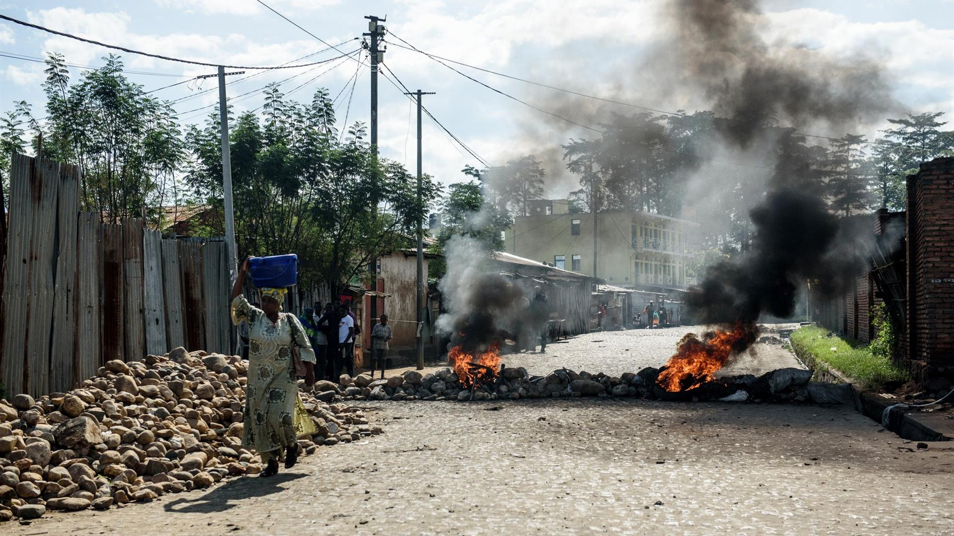 Jennifer Huxta:AFP:Getty Images Burundi