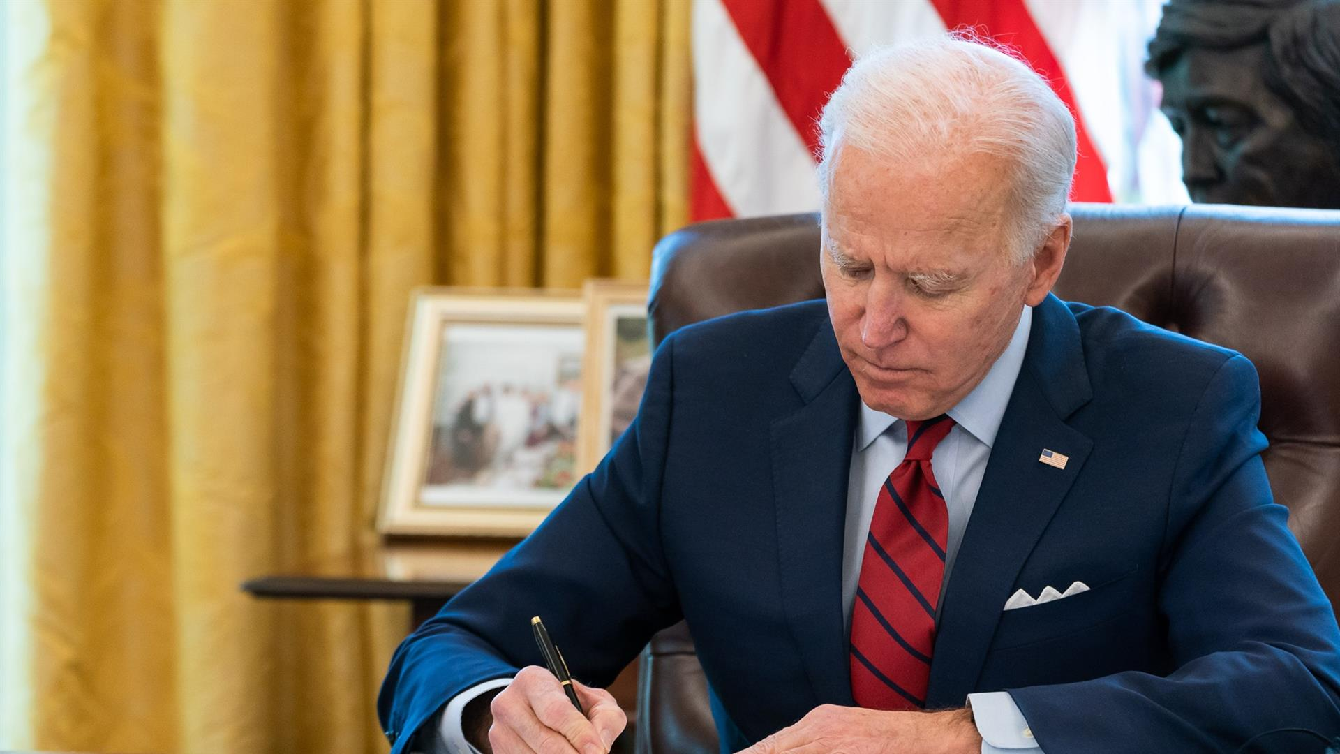 President Joe Biden Signs Executive Orders On Health Care Access And Affordability
