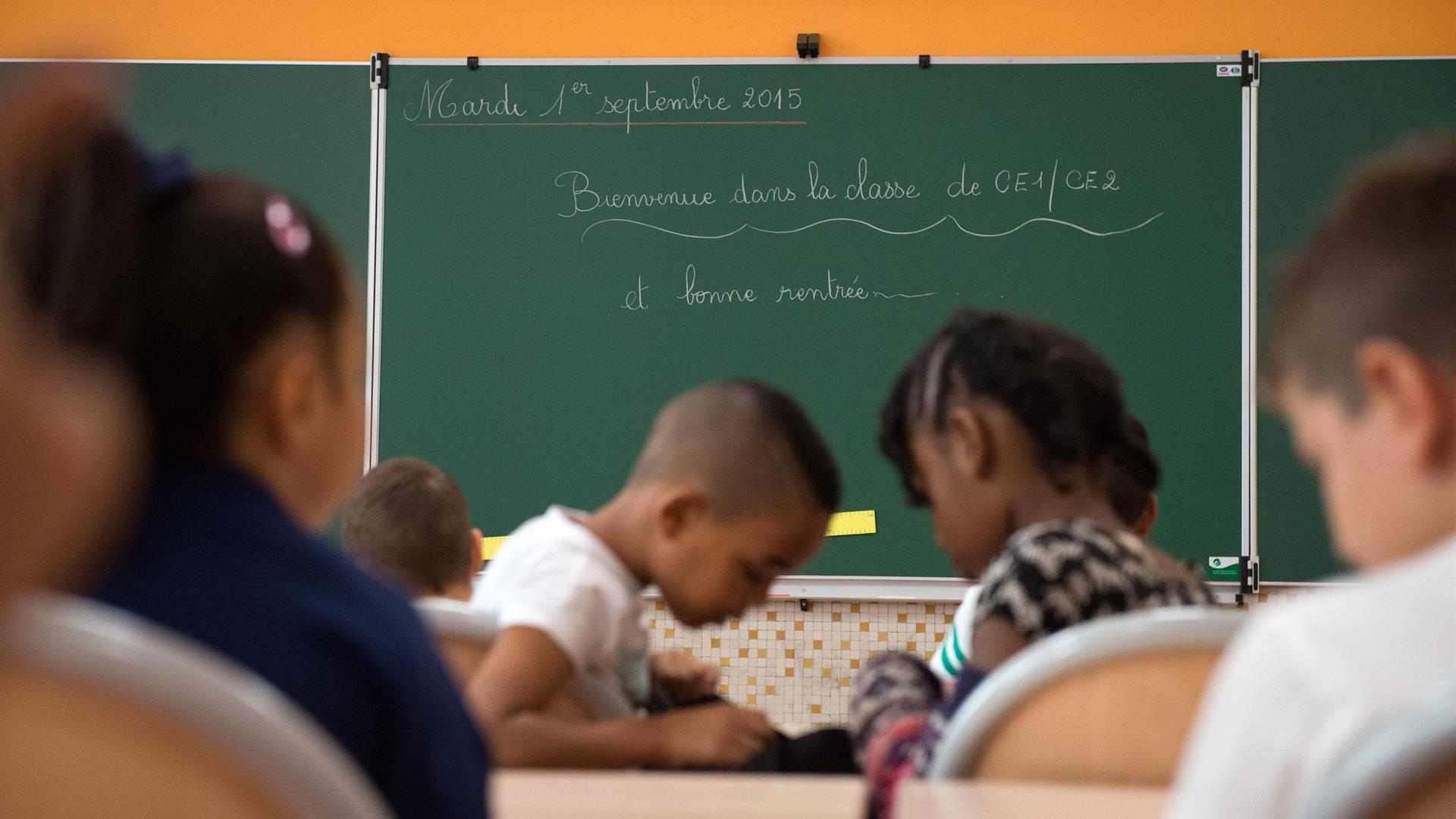 Scuola BERTRAND LANGLOIS:AFP:Getty Images