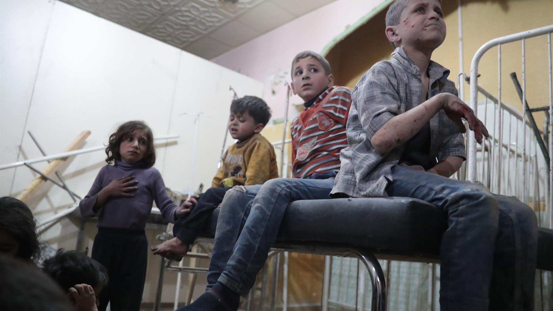 Bambini Siria ABD DOUMANY:AFP:Getty Images