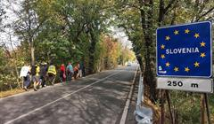 Slovenian Border, Credit Albert Lozada