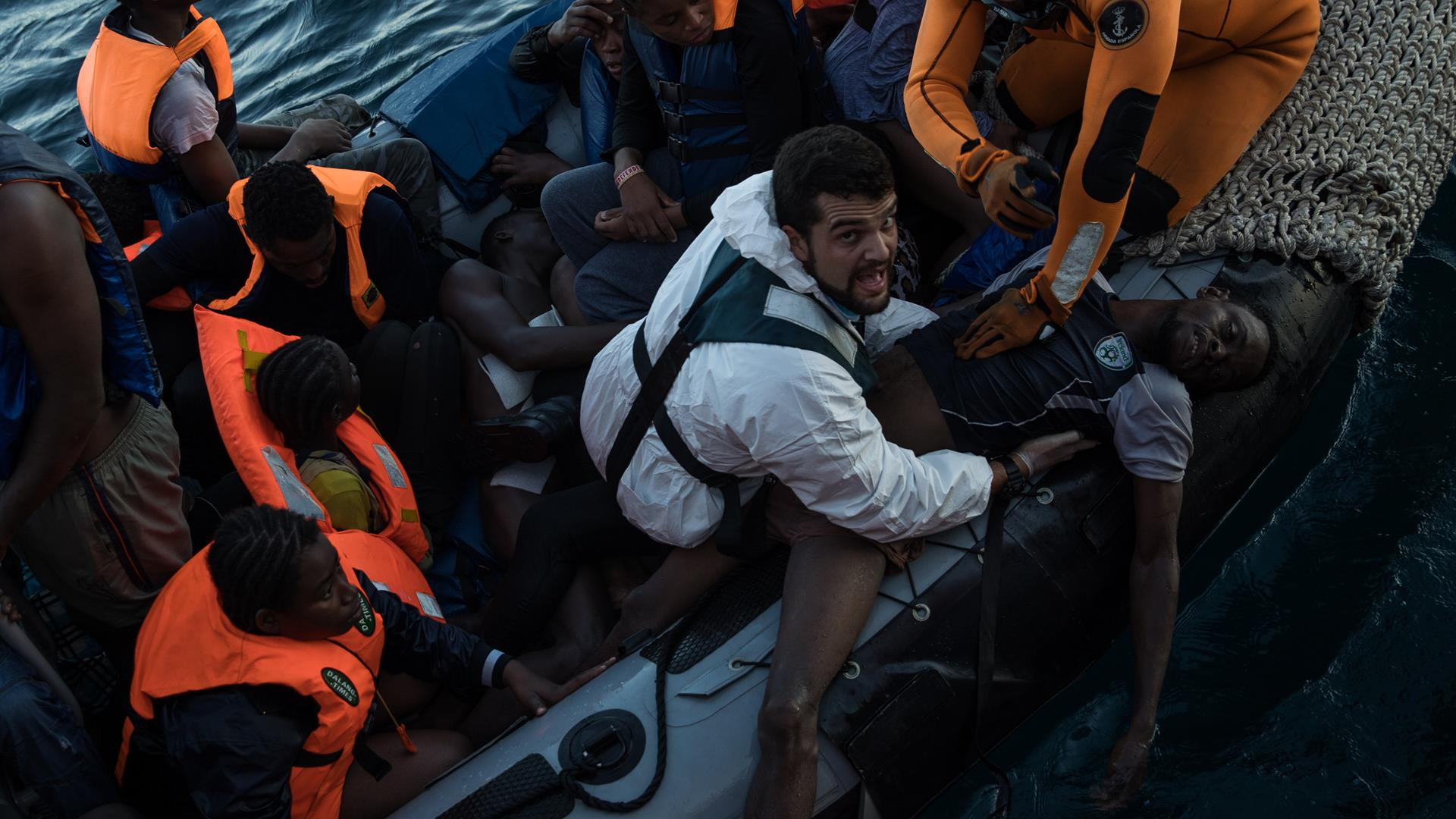 Migranti ONG Moas Dan Kitwood Getty