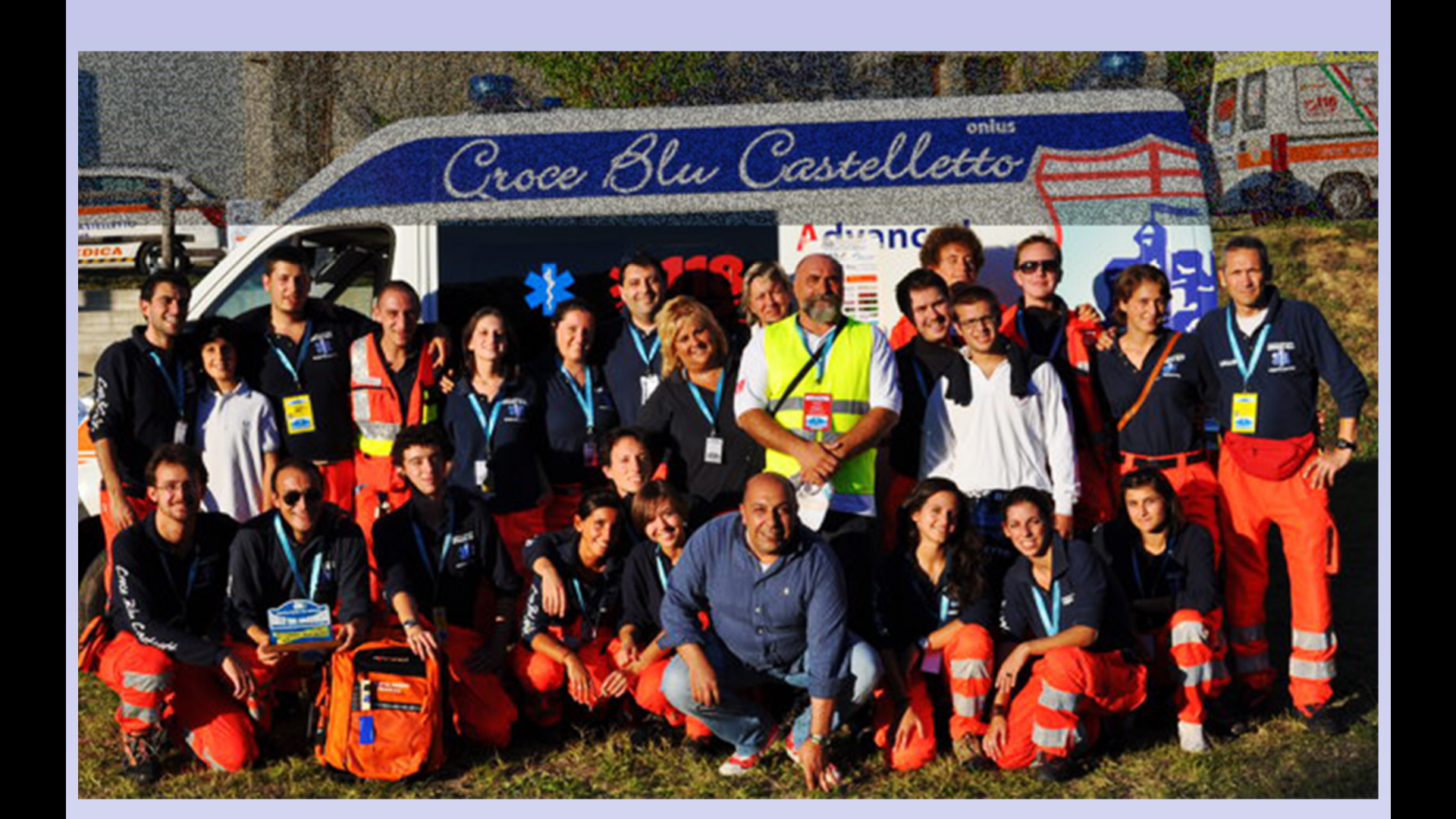 Lo Staff Croce Blu Castelletto