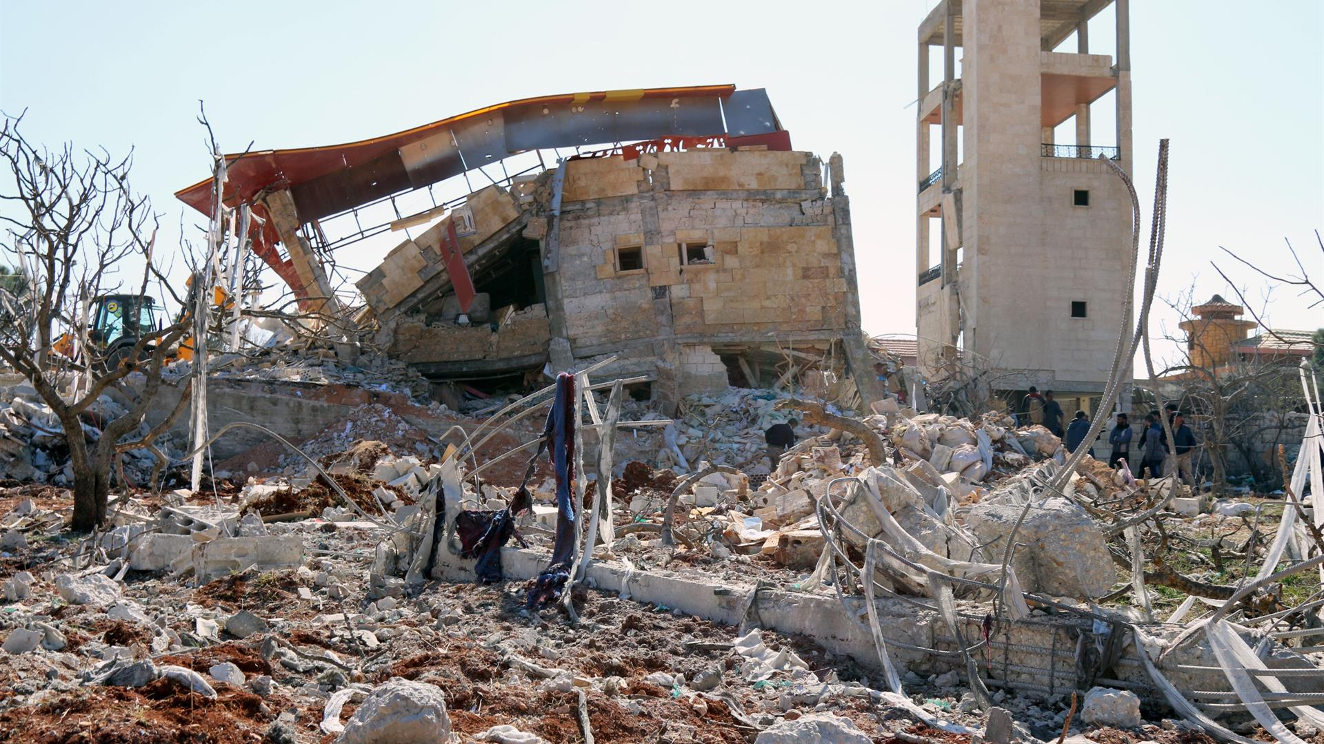 STRINGER:AFP:Getty Images MSF Ospedale Distrutto Siria
