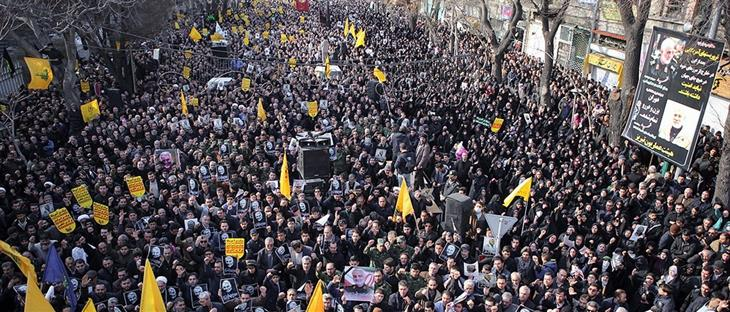 Demonstrations In Iran Over The Death Of Qasem Soleimani 1