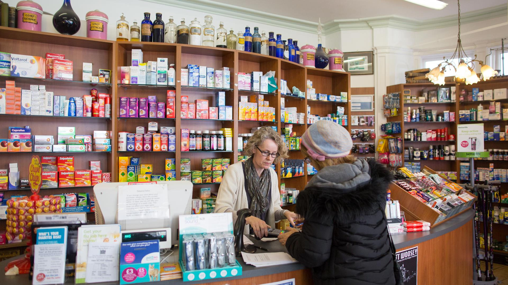 Matt Cardy:Getty Images Farmacia