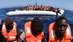 Migranti Mediterraneo Gabrie Bouys Getty