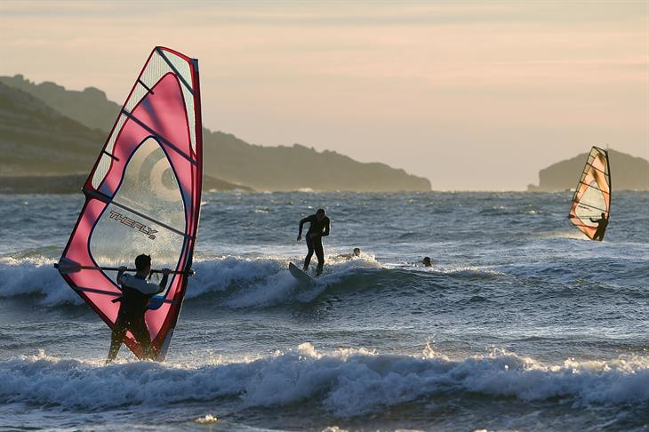 Getty Images Windsurf