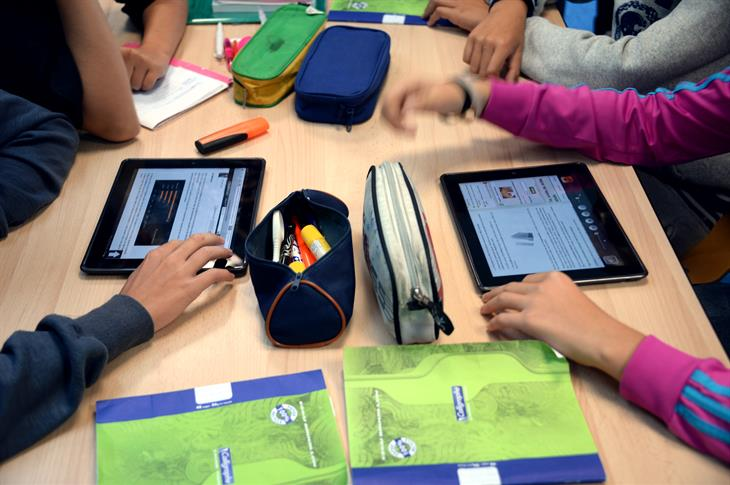 Tablet Scuola Getty Images