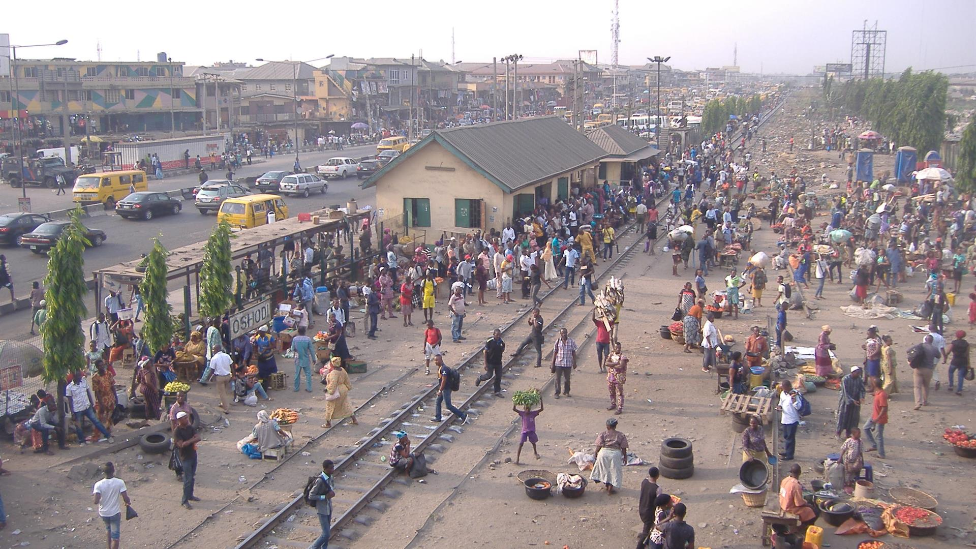 Train Stations In Oshodi, Lagos, Nigeria Photo Taken By Mr