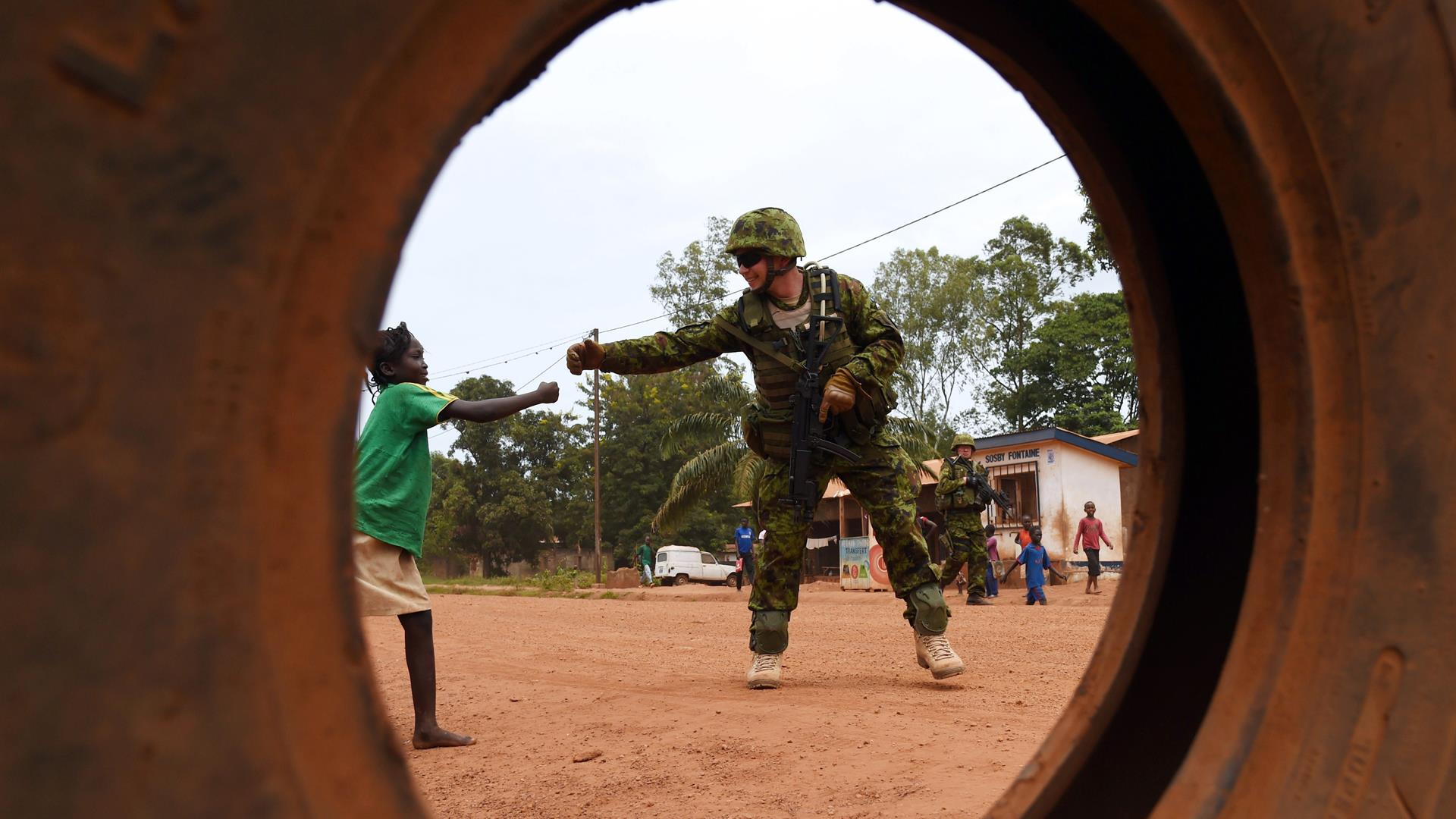 Eufor EU Repubblica Centrafricana Getty