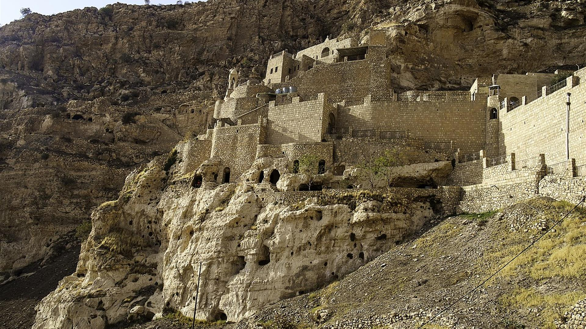 1280Px Rabban Hormizd Monastery View From Below (1)