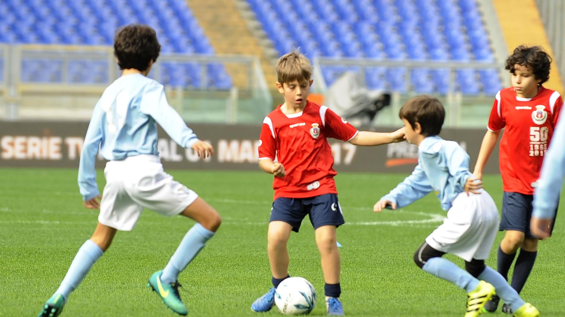 Calcio Bambini Marco Rosi:Getty Images