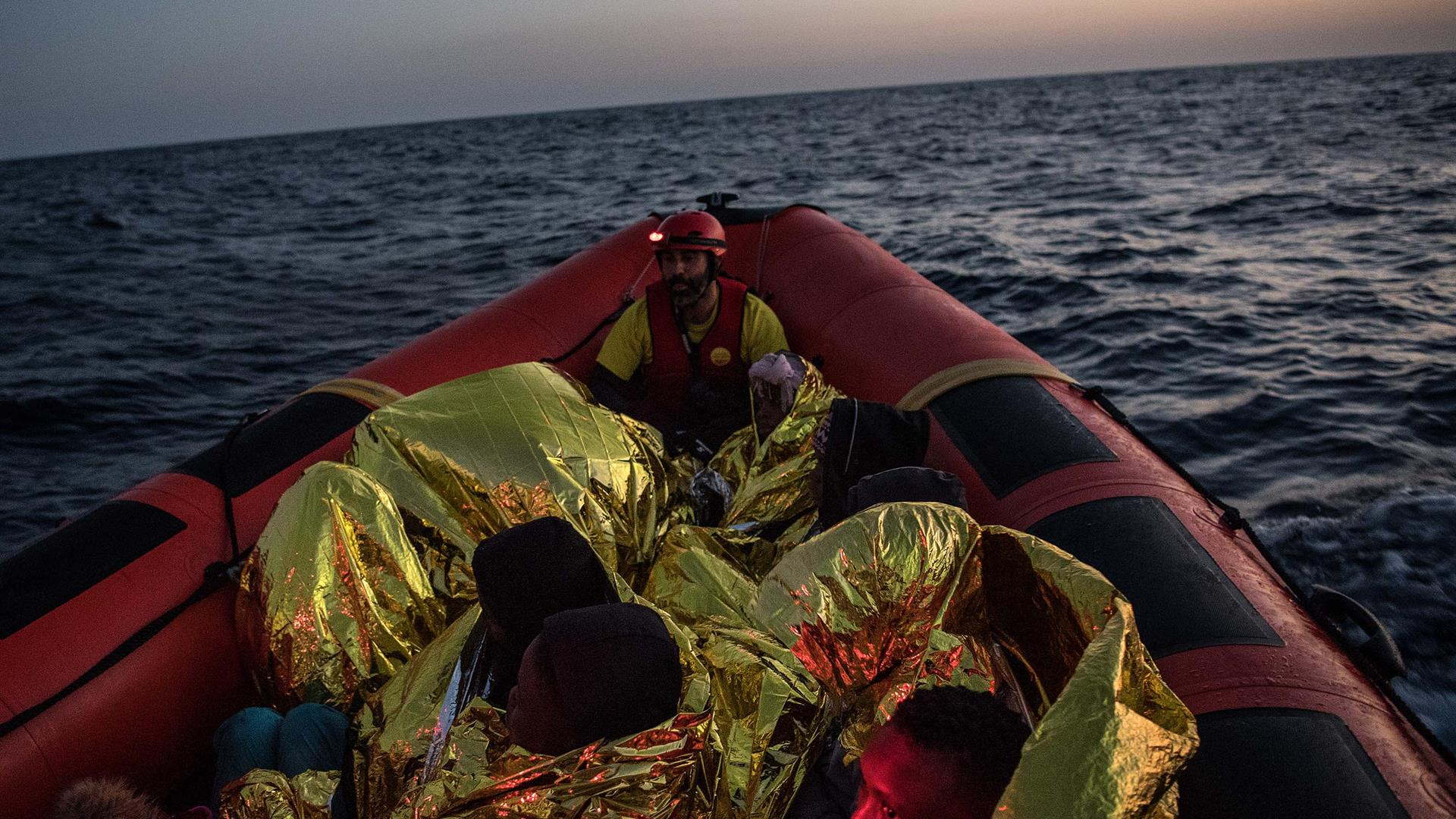 Migranti Libia Mediterraneo David Ramos Getty