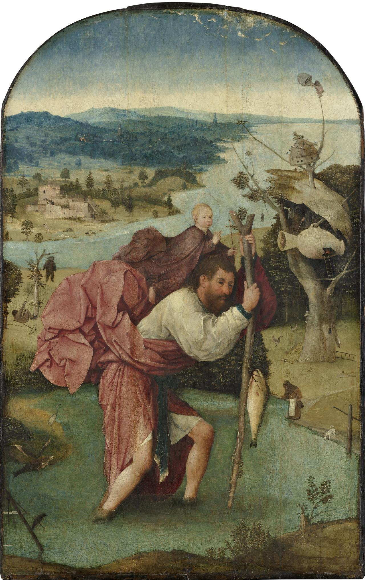 Jheronimus Bosch Saint Christopher Google Art Project