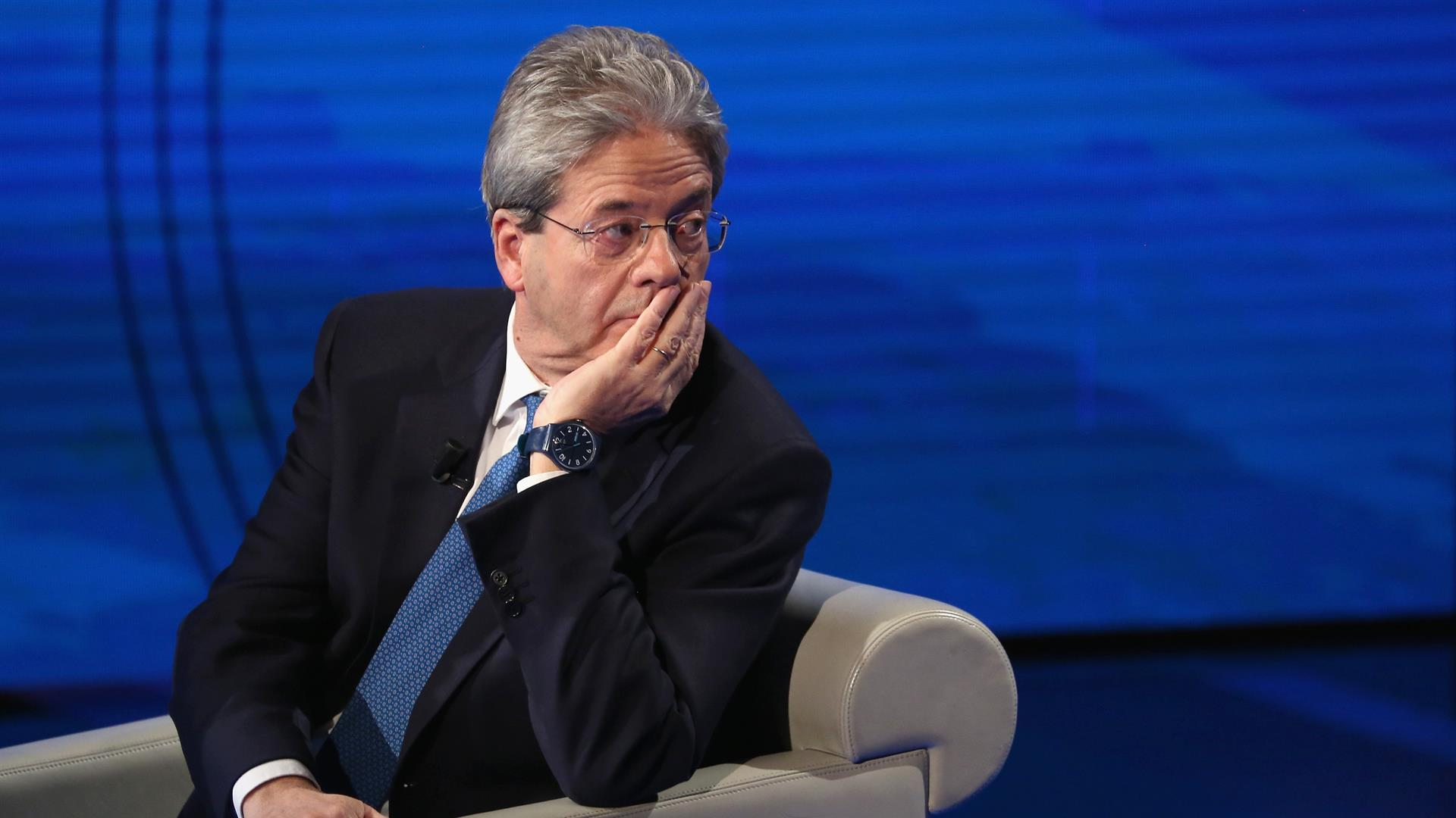 Paolo Gentiloni Vincenzo Lombardo:Getty Images