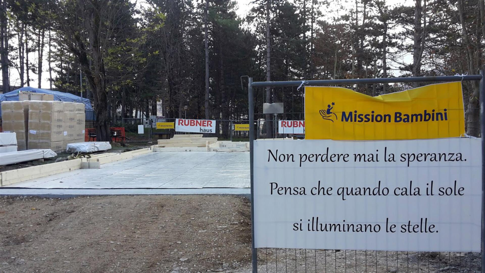 Norcia Cantiere