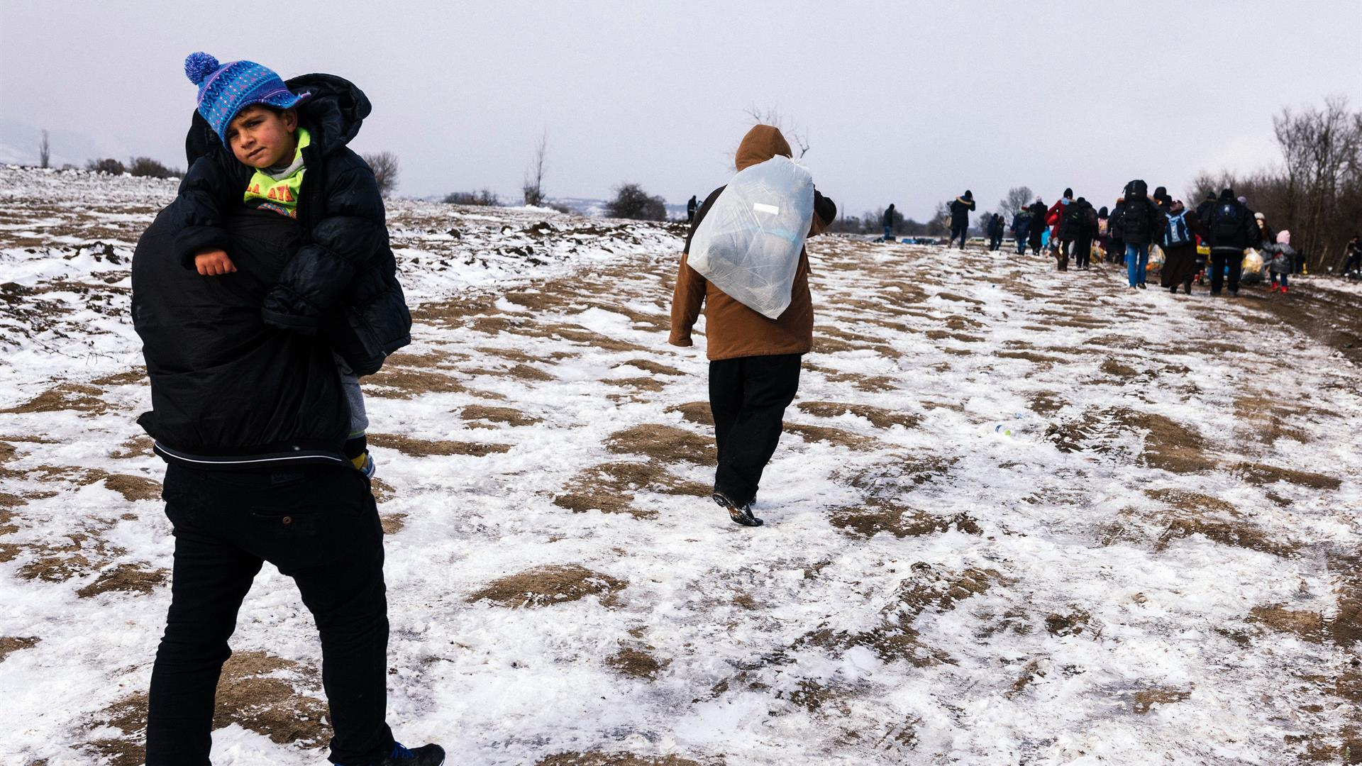 DIMITAR DILKOFF:AFP:Getty Images Migranti Serbia
