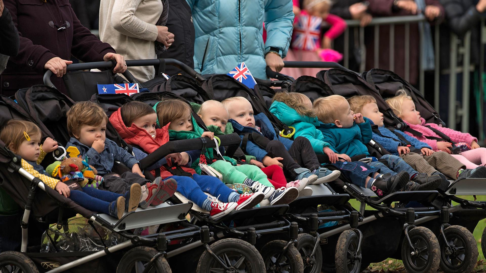 Famiglia Passeggini Marty Melville:AFP:Getty Images