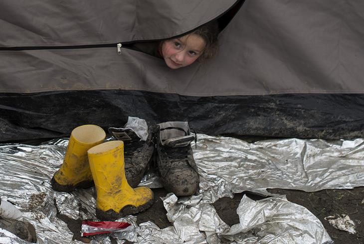 ROBERT ATANASOVSKI:AFP:Getty Images Migranti Serbia Mac