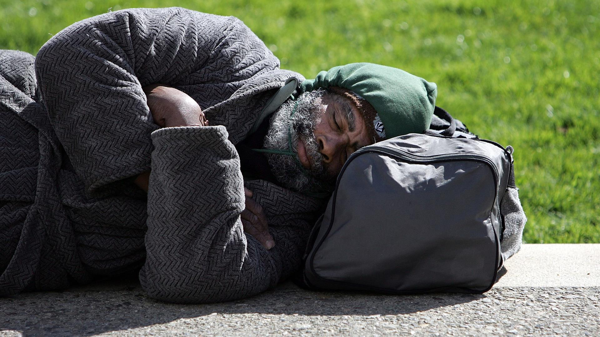 Homeless Justin Sullivan:Getty Images