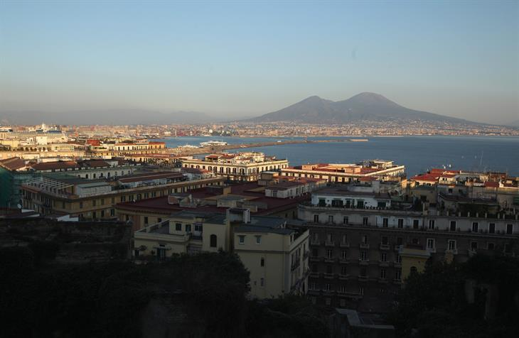 Christopher Furlong:Getty Images Golfo Napoli