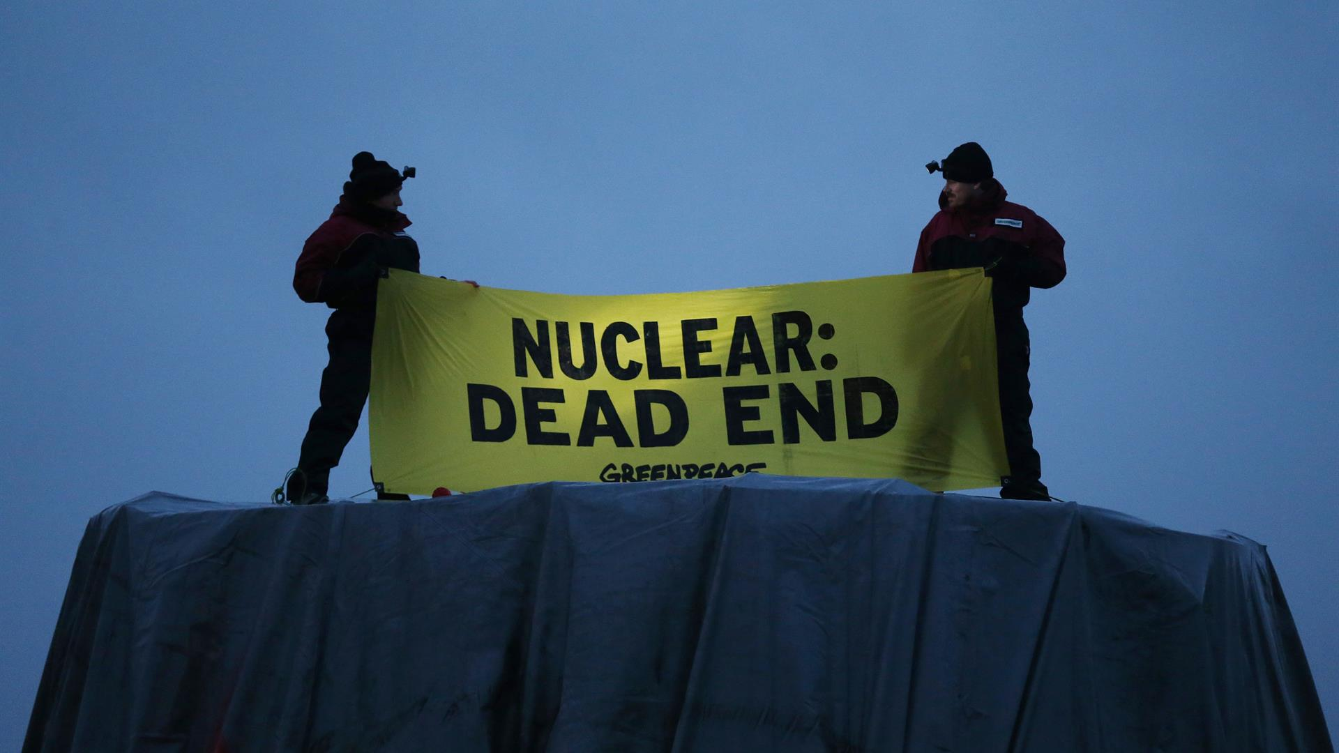Greenpeace CHARLY TRIBALLEAU:AFP:Getty Images
