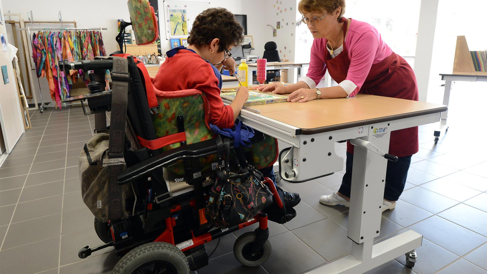 Disabilità Scuola ANNE CHRISTINE POUJOULAT:AFP:Getty Images