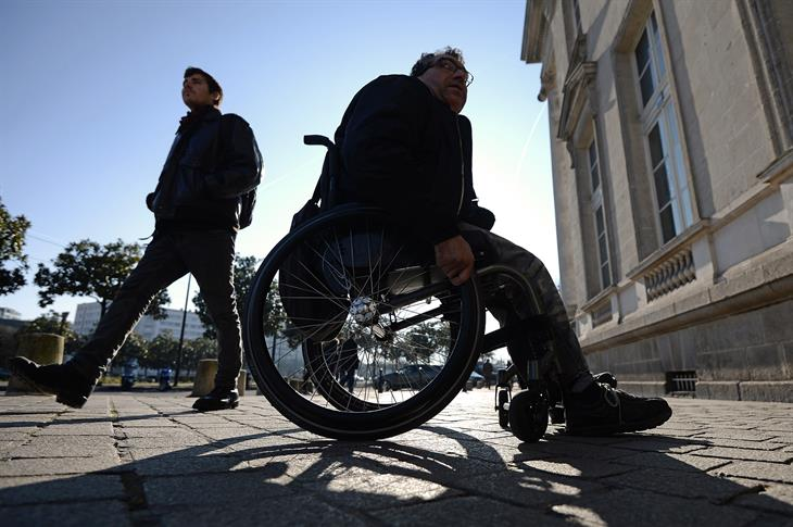 Disabilità JEAN SEBASTIEN EVRARD:AFP:Getty Image