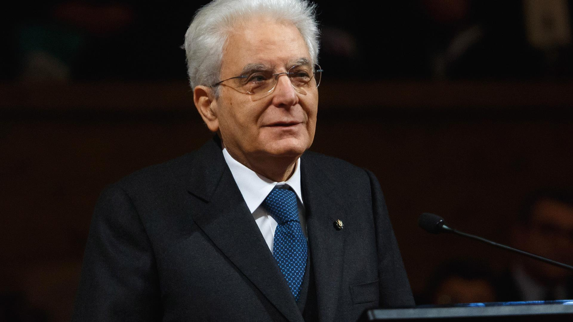 Sergio Mattarella Photo By Awakening:Getty Images)