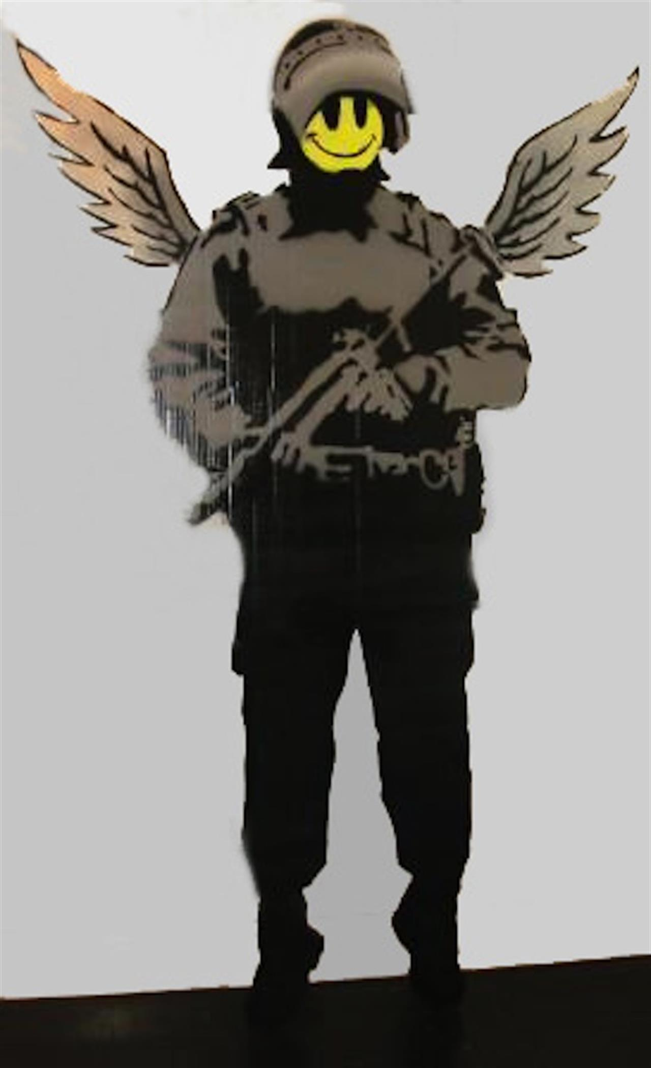 Banksy Angelcopper L Andipa Gallery