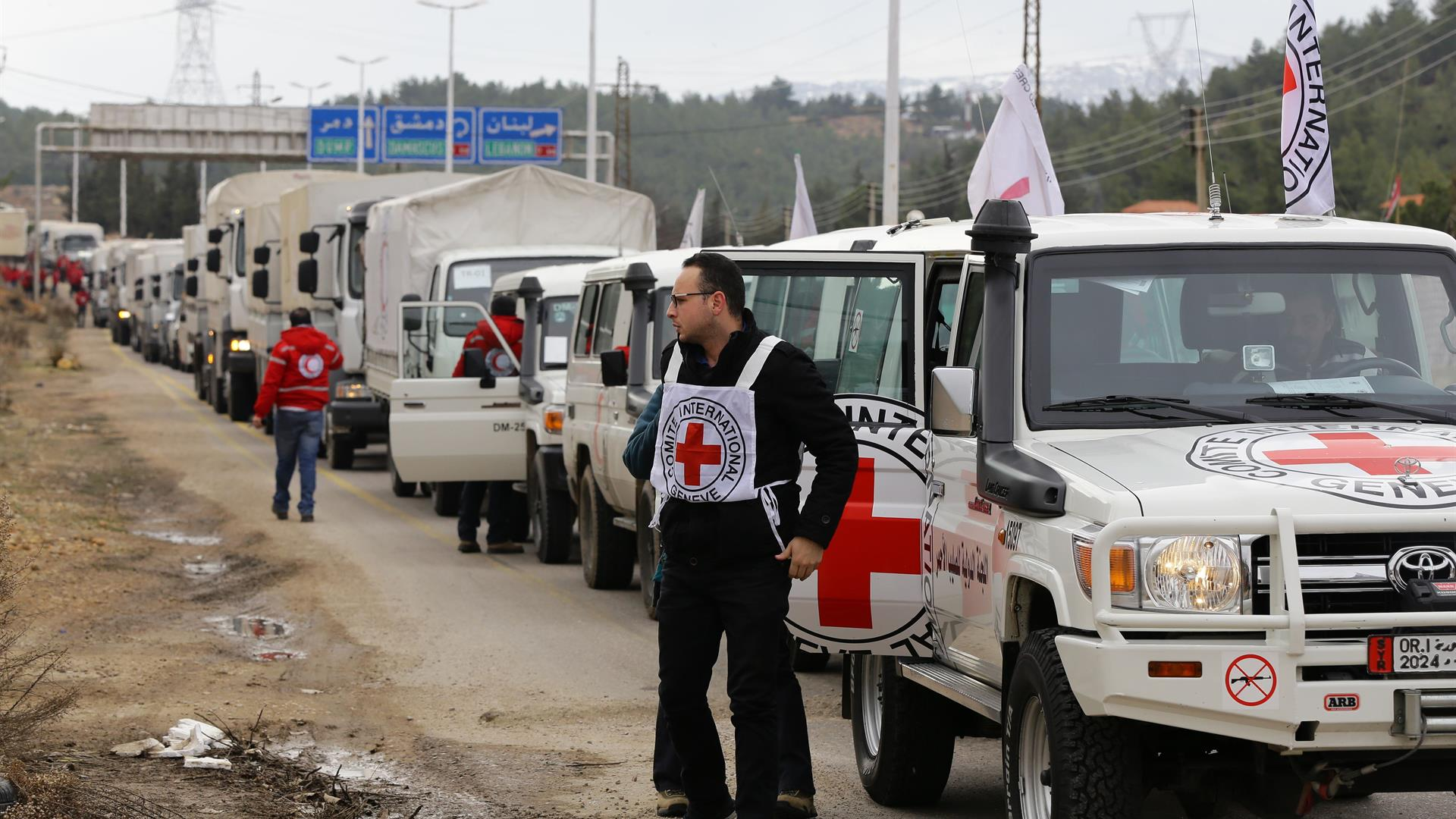 LOUAI BESHARA:AFP:Getty Images Madaya Aiuti