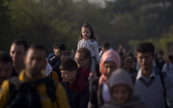 Migranti NIKOLAY DOYCHINOV:AFP:Getty Images