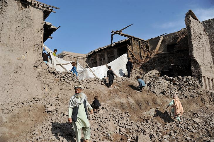 Noorullah Shirzada:AFP:Getty Images Terremoto Afghanistan