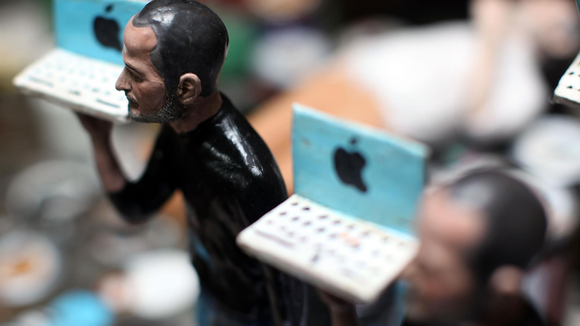Presepe Steve Jobs Napoli Apple