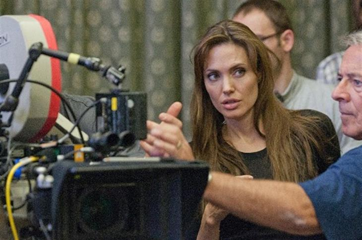 Angelina Jolie On The In The Land Of Blood And Honey Set